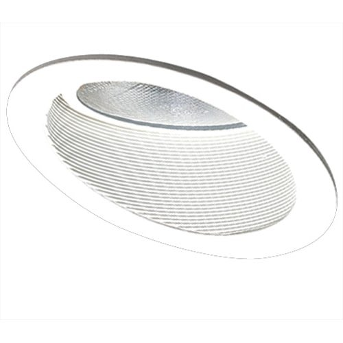 Elco Lighting EL626W 6'' Sloped Phenolic Baffle with Gimbal Ring