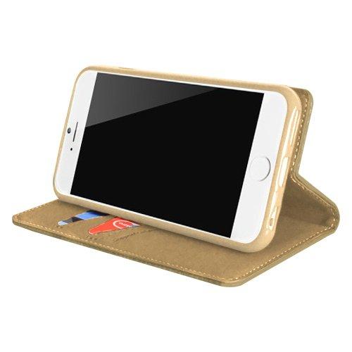 "STAR-CASE ""Star-Case"" ® Book Case ""Classic soft"" für Apple iPhone 6, 6S Gold"