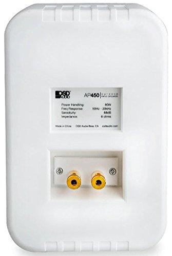 OSD Audio AP450 3-Way Indoor/Outdoor Weatherproof Patio Spea
