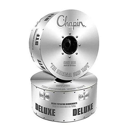 5//8 Chapin Deluxe Drip Tape Roll Length : 3750 Emitter Spacing : 8 Wall Thickness : 8 mil Flow Rate : .65 GPM//100 ft