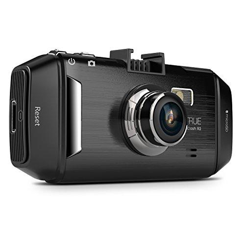 Vantrue R2 Car Dash Cam - 2K HD WDR 2.7 In. LCD Dashboard Camera DVR Video & Audio Recorder w/ 170 Wide Angle, Parking Sensor & Superior Night Vision (Old Version Silver)