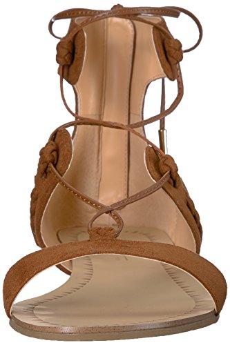 Daya Door Zendaya Vrouwen Sonora Gladiator Sandaal Cognac
