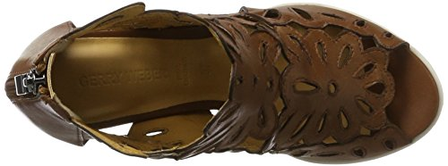GERRY WEBER Adriana 06, Women's Bootees Brown (Cognac)