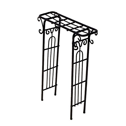 Provence AF3040 Iron Mini Fairy Garden Arbour, Bronze by Provence