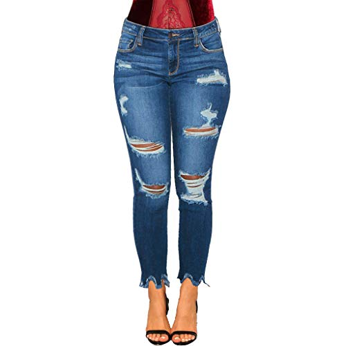 Lixiliw Women's Classic High Waisted Butt Lift Jeans Stretch Modern Skinny Jeans Denim Pants Leggings(Black,3XL)