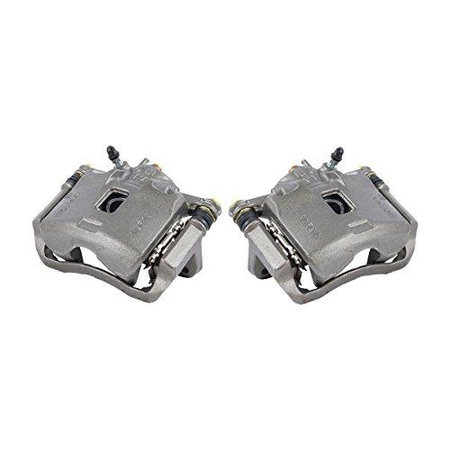 (CKOE01054 [ 2 ] FRONT Premium Grade OE Semi-Loaded Caliper Assembly Pair Set)