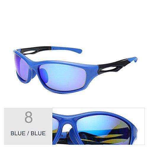 TIANLIANG04 Deportivos Luz Deporte De Confortable Gris Gafas Gafas Blue Blue De Polarizadas Nocturna Lentes Sol Conducción Hombre Negro Piscina Para SrRxwSq5I