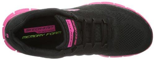 Skechers Sport Femmes Sweet Spot Mode Sneaker Noir / Rose