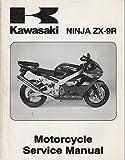 2002 KAWASAKI MOTORCYCLE NINJA ZX-9R SERVICE MANUAL P/N 99924-1280-01 (550)