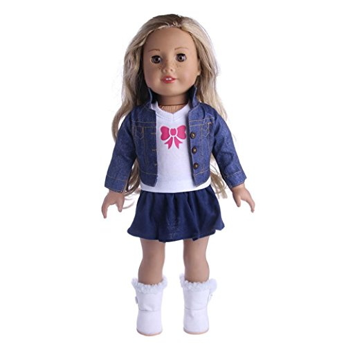 Dolls Clothes Outfit Holiday / Winter Set for 18 Inch - Amer