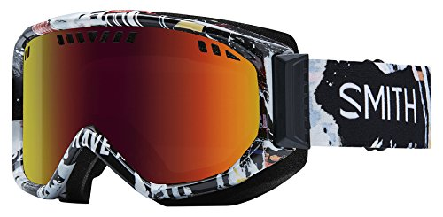 Smith Optics Scope Adult Snowmobile Goggles Ripped / Red sol x Mirror