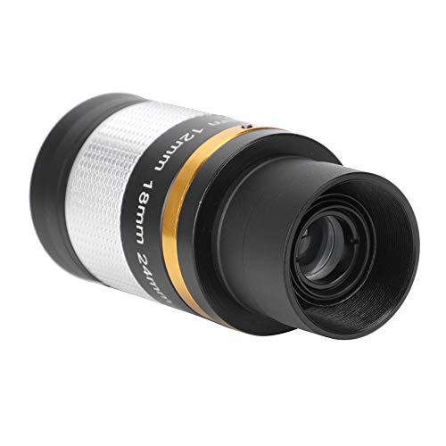 Mugast Eyepiece Lens, 8-24mm Zoom Telescope Eyepiece Professional Optic Eyepiece Suitable for Standard 31.7mm Telescopes for Star Watching Astronomical Use