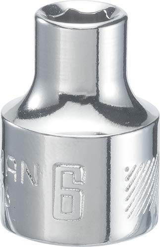 8mm 6-Point CMMT43504 CRAFTSMAN Shallow Socket 1//4-Inch Drive Metric
