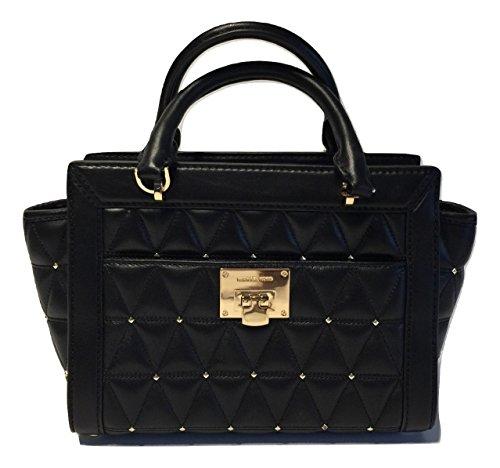 michael kors black quilted bag - 9