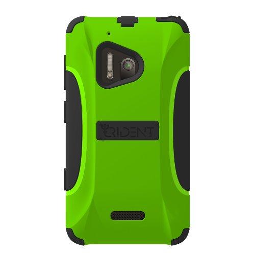 Trident Case Aegis Series for Nokia Lumia 928 - Retail Packaging - Green (Nokia Lumia 928 Trident Case)