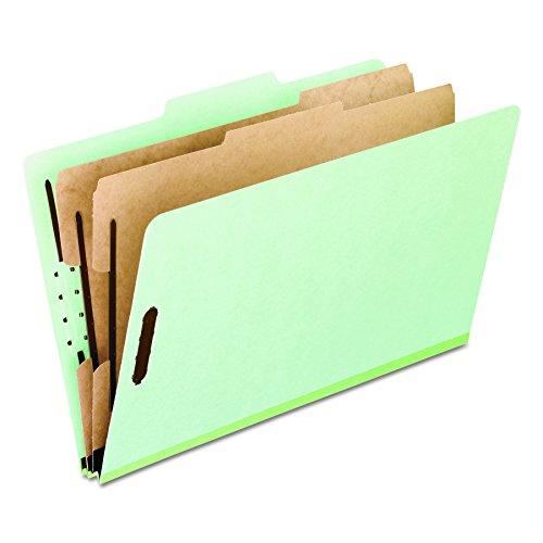 6 Section 10 Box (Pendaflex 17173 Pressboard Classification Folders, Letter Size, 6-Section, Green, 10 per Box)