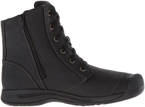 Keen Women's Reisen Zip WP FG-W-W Shoe, Belgian Black