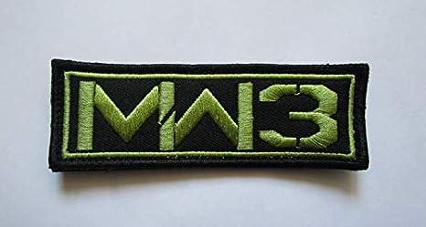 Call of Duty Modern Warfare 3 parche militar bordado insignias parche táctico pegatinas para ropa con gancho y bucle: Amazon.es: Juguetes y juegos