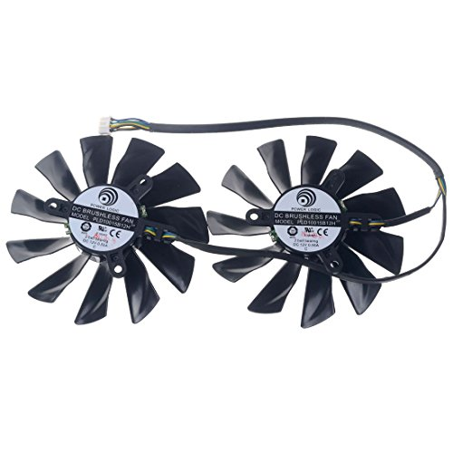 PLD10015B12H 95mm DC12V 0.55A 42mm 4Pin Replacement Graphics Video Card PC Cooling Dual Fan by Allpartz (Image #6)
