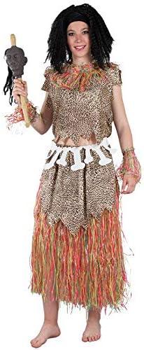 DISBACANAL Disfraz Tribu Africana para Mujer - -, M: Amazon.es ...