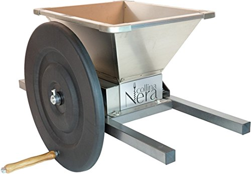 Up to 1100 lbs per hour processing capacity - Stainless Steel Apple and Fruit Crusher | Grinder for Fruit and Wine Press