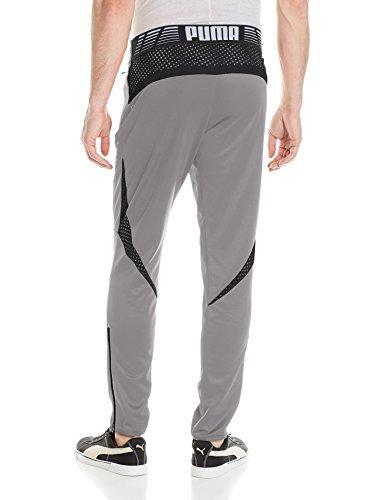 Pantalone da uomo Flicker, grigio acciaio / Puma nero, XXX-L