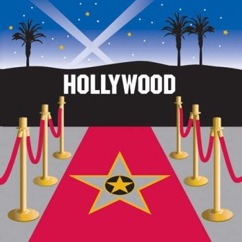 Reel Hollywood Hollywood 3-Ply Lunch Napkins
