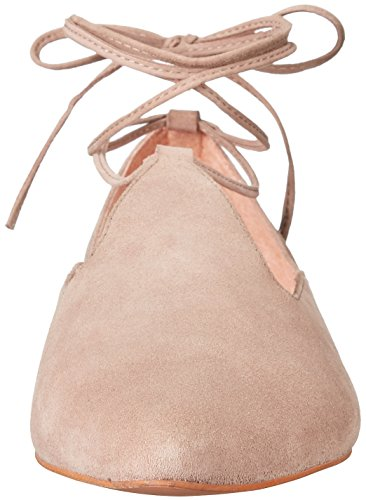 Seychelles Women's Hive Ballet Flat Taupe Suede 1MGX11