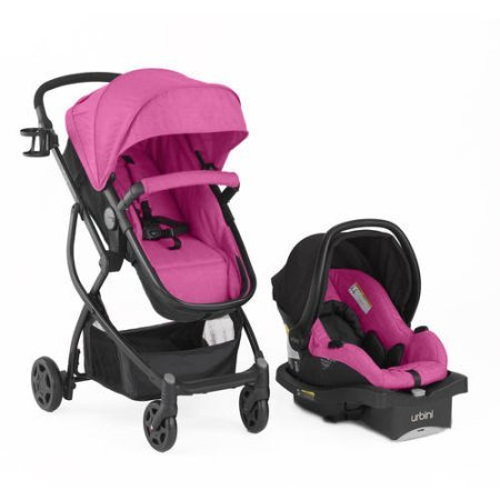 Urbini Omni Plus Travel System (Berry)