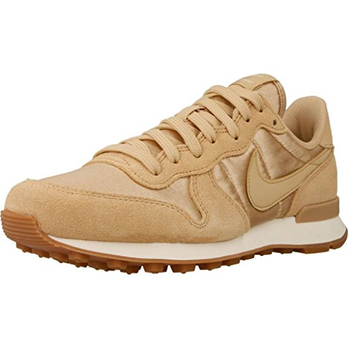 Gymnastique sail Med Brown Nike Internationalist Chaussures Linen WMNS de Linen gum Femme 8r8vqPfIxw