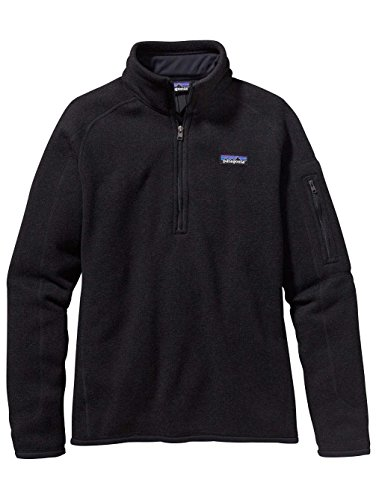 patagonia-womens-sweater-with-1-4-zip-fleece-xs-black
