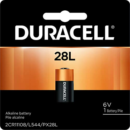 Duracell - 28L 6V Lithium Photo Size Battery - long lasting battery - 1 count