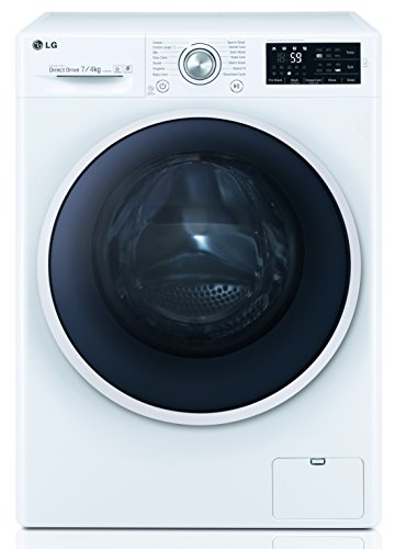 LG Electronics F 12U2 HDM0NH Waschtrockner / 1134 kWh / 7kg Waschen / 4kg Trocknen /Smart Diagnosis / weiß