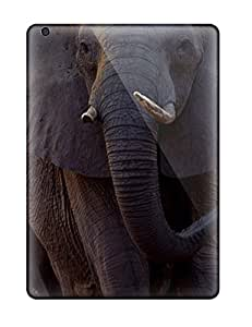 [gQAxNeW3671IXtET] - New Matriarch Of A Herd Of African Elephants Walks Ahead Of The Herd Across Floodplains At Mombo Camp Chief 8217s Island Moremi Game Reserve Botswana Protective Ipad Air Classic Hardshell Case