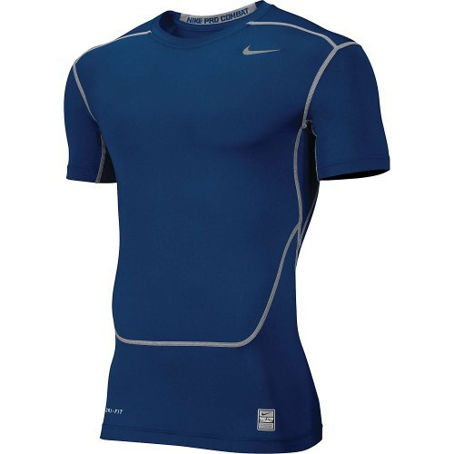 Nike Core 2.0 Compression Short Sleeve Top Mens Navy - Small