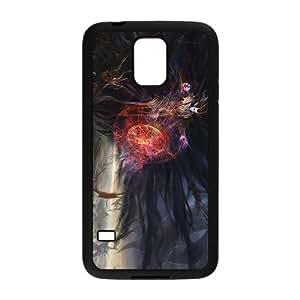 High Quality TPU Case Cover Demon Spell Pentagram Dark Smoke Custom Perfect Case for Samsung Galaxy S5