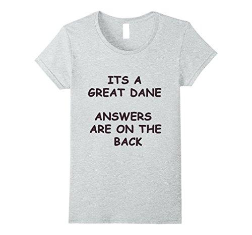 Womens great dane questions XL Heather Grey
