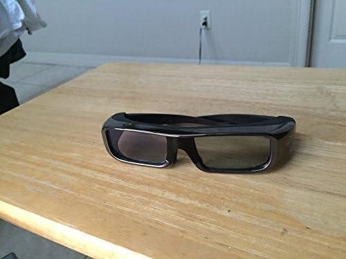 TDG-BR100 Adult Size 3D Active Glasses Black