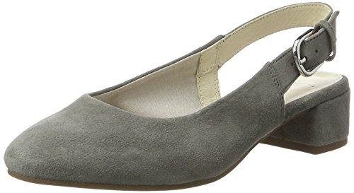 Vagabond Women's Jamilla Closed Toe Heels, Colour, 4 UK Grey (Grey 17)