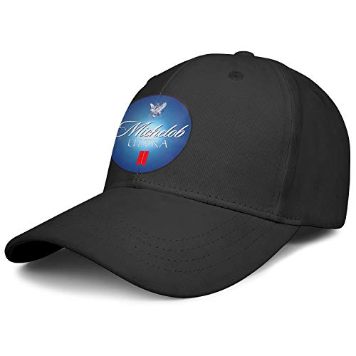 sknkdhgiJ Unisex Womens Soft Baseball Cap Michelob-Ultra-Sign- Plain Six Panel Cotton Adult Cap