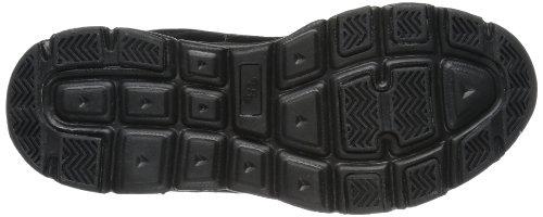 Bruetting Glendale 591050 - Zapatillas de cuero para hombre negro - Schwarz (schwarz/grau)
