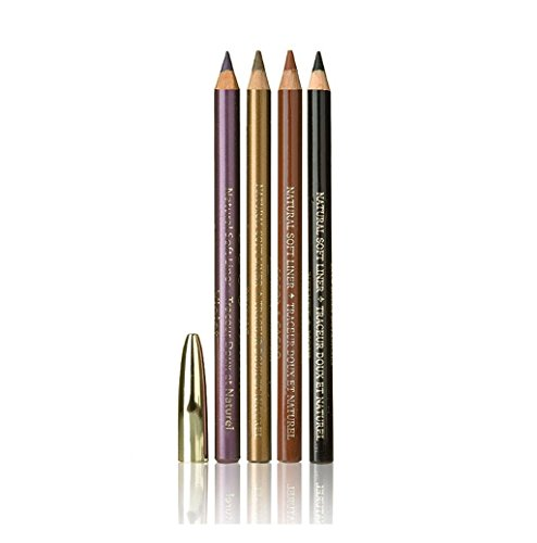 ECCO BELLA BEAUTY EYELINER PENCIL,COCOA, .04 OZ (Ecco Bella Soft Eyeliner Pencil)