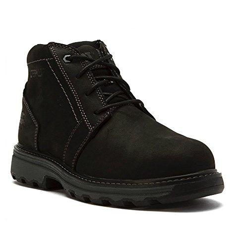 Steel Toe Chukka (Caterpillar Men's Parker Steel Toe Chukka Boot,Black Full Grain Leather,US 10 W)