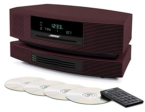 (Wave Music System III with Multi-CD Changer - Limited-edition Burgundy)