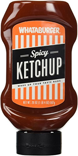 Whataburger Spicy Ketchup    3 Pack 20Oz