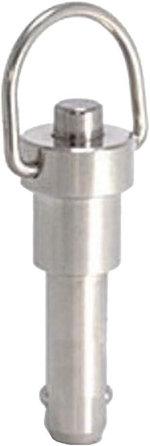 /Φ 8 mm Spannl/änge 20 mm gazechimp 6 St/ücke Edelstahl Kugelsperrbolzen Steckbolzen mit 23cm Drahtseil