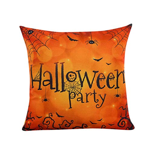 Bolayu Fashion 45cm45cm Halloween Sofa Bed Home Decor Pillow Case Cushion Cover (B)