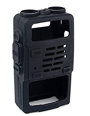 Retevis Rubber Soft Handheld 2 Way Radio Case Holster Protection for Baofeng BF-UV5R UV-5RV UV-5RE UV5R+ UV-985 Retevis RT-5R RT-5RV WalkIe Talkies (1 Pack) by Retevis