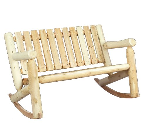 Cedarlooks 010006A Log Double Rocking (Cedar Glider Bench)