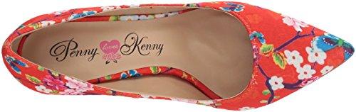 Penny Loves Kenny Women's Opus Sf Pump Red Floral JSMhK